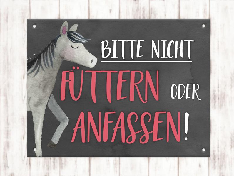 Sophie_Kunterbunt_Stallschild_Füttern