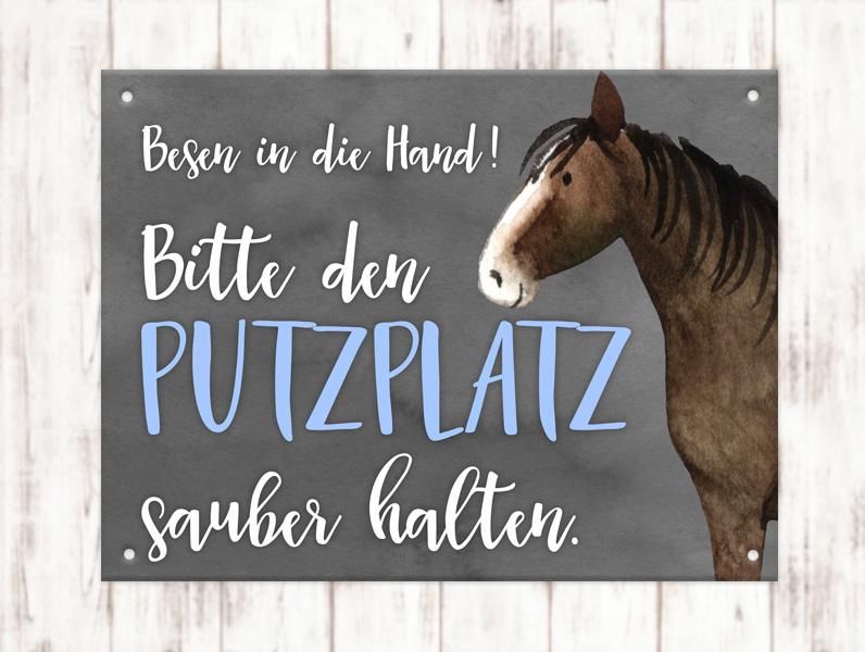Sophie_Kunterbunt_Stallschild_Putzplatz