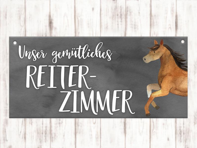 Sophie_Kunterbunt_Stallschild_Reiterzimmer#