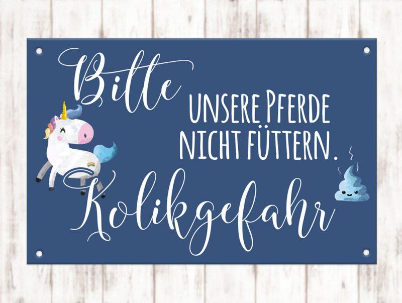 Sophie_Kunterbunt_Warnschild_Kolik_Gefahr