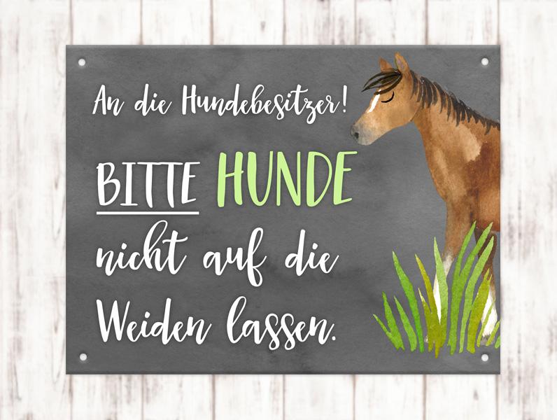 Sophie_Kunterbunt_Stallschild_Hundebesitzer
