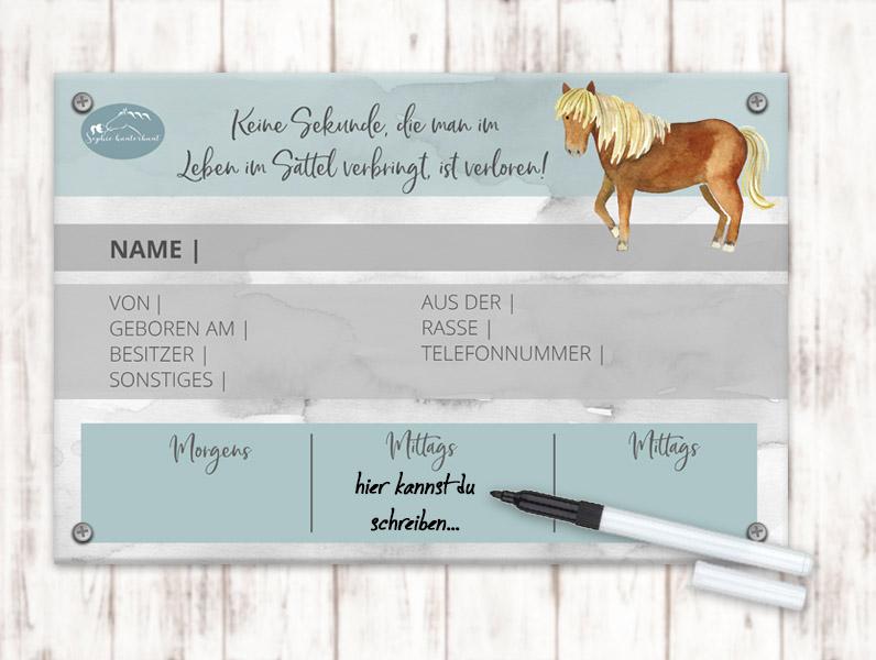 Sophie_Kunterbunt_Boxenschild_White_Board_Standard