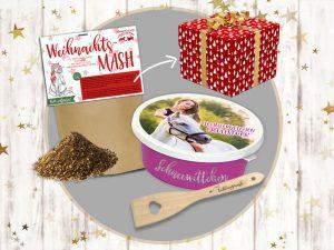 Geschenkbox Futter