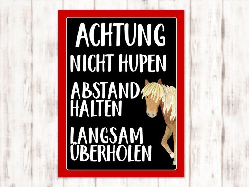 Sophie_Kunterbunt_Sticker_Pferdeanhänger_Abstand_Universell3